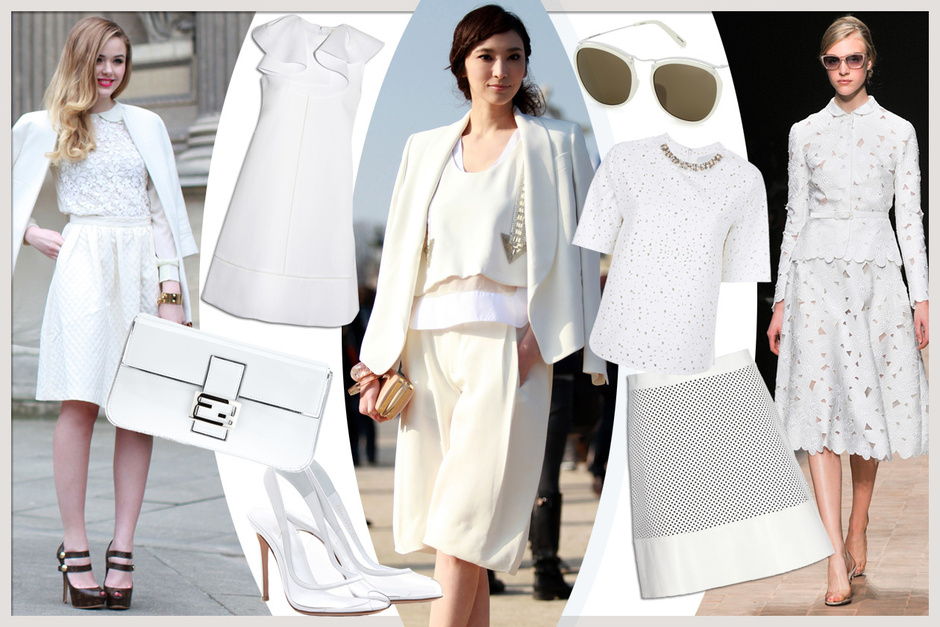 TOTAL WHITE… SO CHIC!