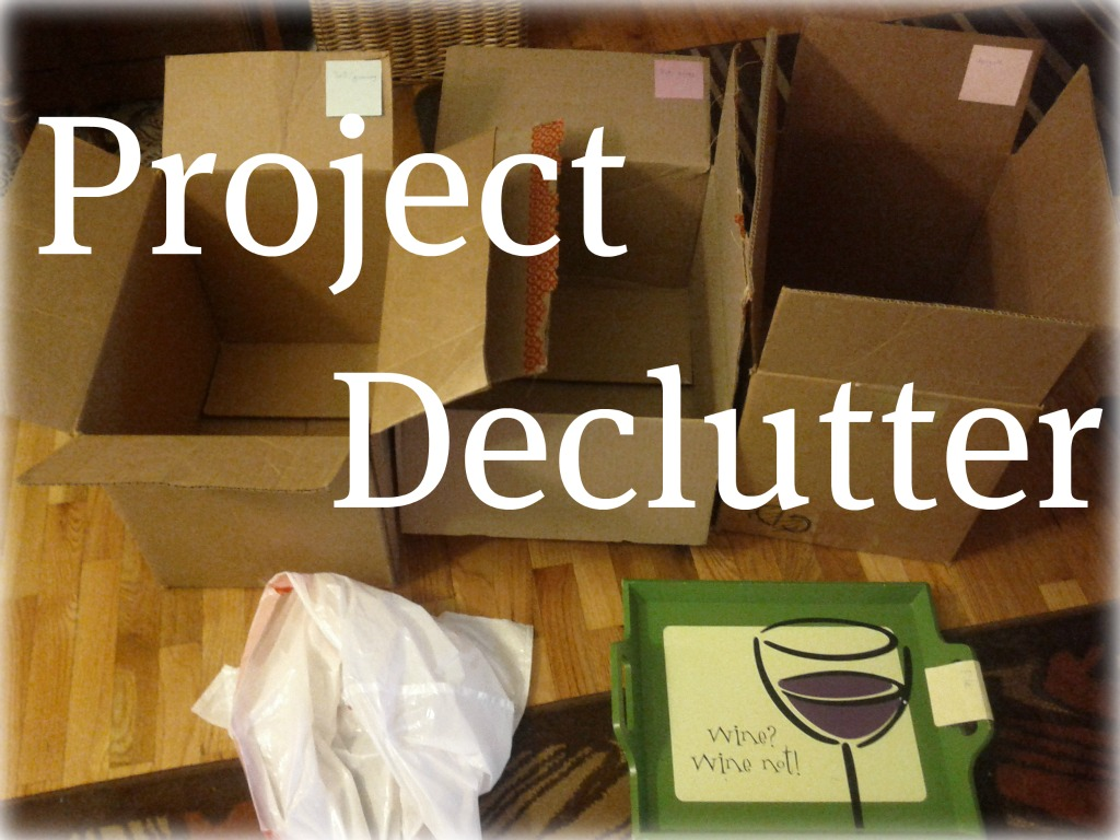 #UNANUOVAME: DECLUTTERING!